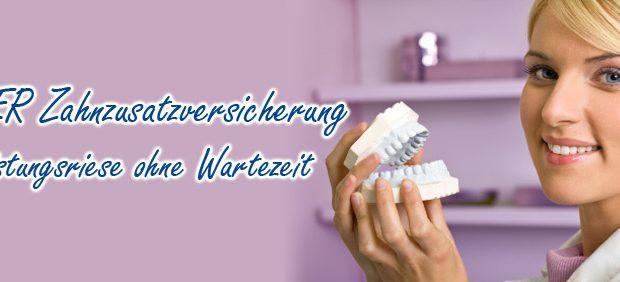 INTER Zahnzusatzversicherung ohne Wartezeit