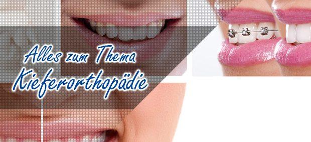 Kieferorthopaedie Zahnlexikon